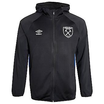 2021-2022 West Ham Hooded Jacket (Black)