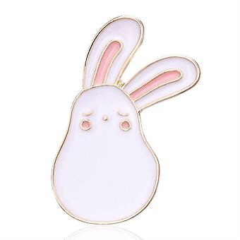 Emaliowane broszki m wiatrak królika marchewk do odzieży torby dla dzieci