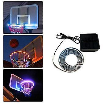 1個ledストリップランプバスケットボールフープライトバスケットボールリムを導いた