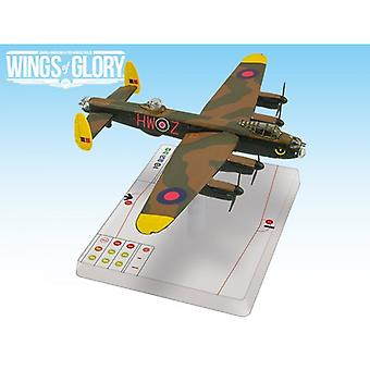 Wings of Glory Grog's the shot Avro Lancaster B Mk.III Board Game