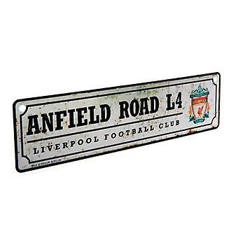 Liverpool FC Window Sign Retro