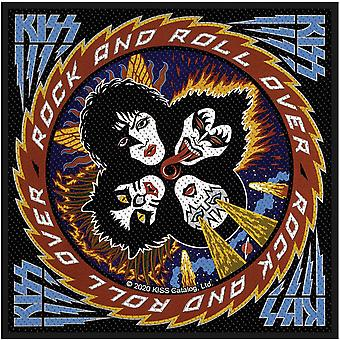 KISS - Rock N' Roll over Standard-Patch