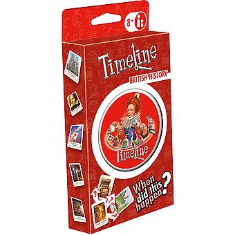 Timeline British History - My Country Eco Blister Card Game
