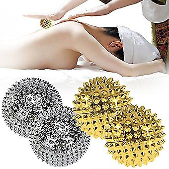 Stress Relief Yoga Fitness Magnetic Therapy Massager Balls