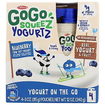 Gogo Squeeze Joghurt Blubry 4Pk, Fall von 12 X 12 Oz
