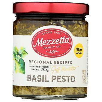 Mezzetta Sauce Pesto Basil Ital Hm, Case of 6 X 6.25 Oz