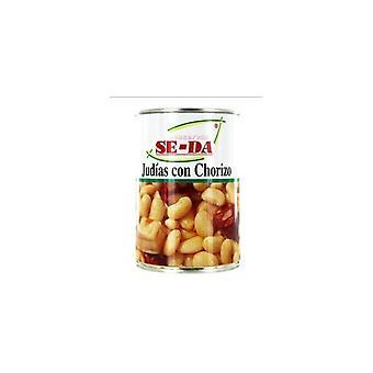 Bohnen mit Chorizo Se-Da (415 g)