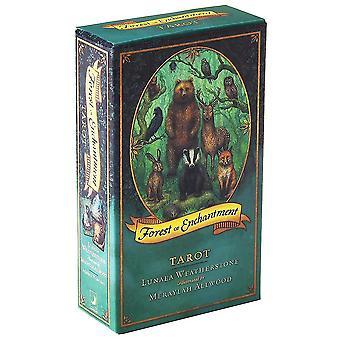 קלאסי קלפי טארוט יער של קוסם הרוכב וייט טארוט למתחילים משחק קלפים(יער של