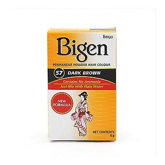 Permanent Dye Bigen Nº57 Dark Brown (6 gr)