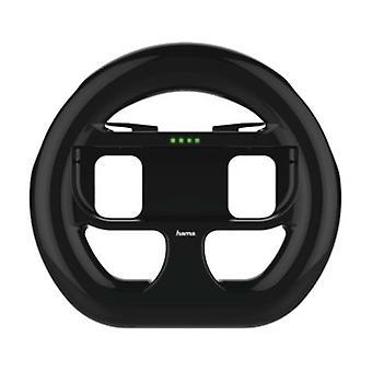 Hama XXL Stuurwiel voor Nintendo Switch, set van 2, zwart