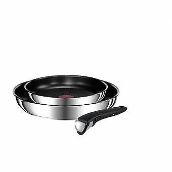 Tefal Titanium Ingenio Preference Starter Pan Set, Titanium, Stainless Steel, Cooking Pan Set, Non-Stick Pan
