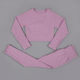 Yoga set workout clothes for women fitness clothing long sleeve yoga suit