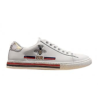 Men's Shoes Casual Little White Shoes Breathable Casual Shoes Small Bee Embroidery Trendboard Shoes