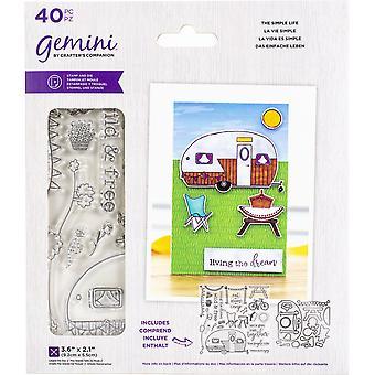 Crafter's Companion Gemini Stamps & Dies - The Simple Life