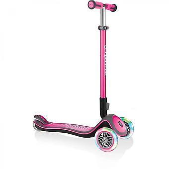Scooter Deluxe Lights 3 Wheels - Pink