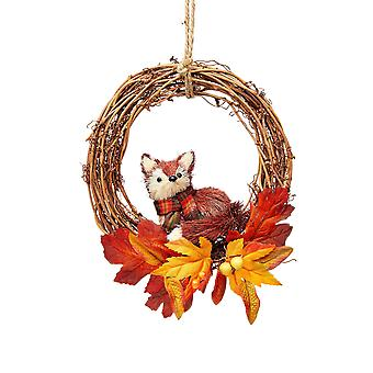 Sass & Belle Fox Twig Christmas Wreath