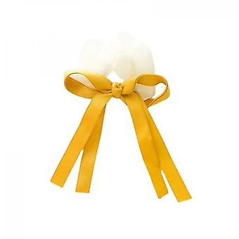 Sweet And Versatile Bow Hair Tie 5-piece Set