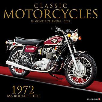 Klassiska motorcyklar 2022 Wall Calendar av Willow Creek Press