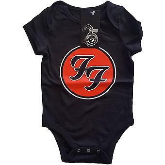 Foo fighters kids baby grow: ff logo