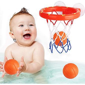 Bath Toy Fun Basketball Hoop &Balls Set Enfants &Toddler Bath Toys 3 Balles inclus