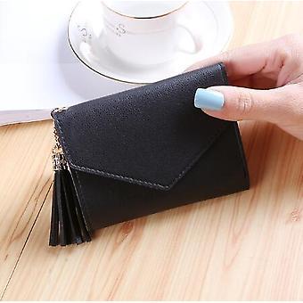 Frauen Reißverschluss Kurze Brieftasche Münze Geldbörse Kartenhalter Handtasche Brieftasche Weiblich Kleine Frauen Brieftaschen Und Geldbörsen Kreuz Süße Kleine Portfel