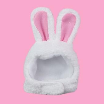 Costum urechi iepuras pentru pisica, headwear, Keep Warm, Pet Accesoriu, Small Dog, Kitten