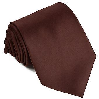 Kravaty pro muže Saténová kravata - Pánské jednobarevné kravaty na krk formální, svatba, večírky