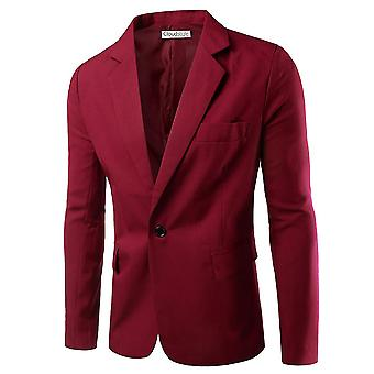 Allthemen Men's Suit Jacket Slim Fit Business Casual Blazer
