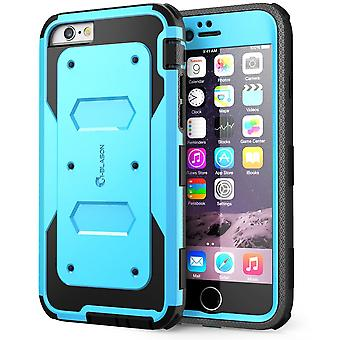 i-Blason- iphone 6 plus, Armorbox Series Dual Layer Full Body Protection Case with Screen Protector-Blue