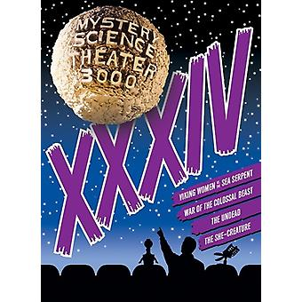 Mystery Science Theater 3000: Xxxiv [DVD] USA import