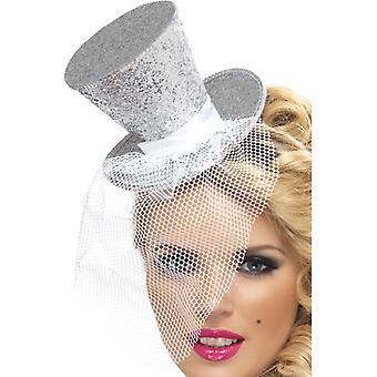 Colectia febra, Mini cilindru pe hairband, Silver