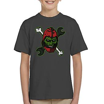 Wizard Of Weapons Masters Of The Universe Kid's T-Shirt