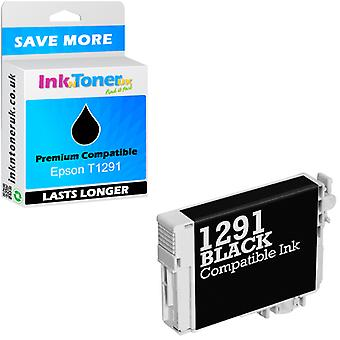Compatible Epson T1291 Black C13T12914011 Ink Cartridge for SX425W