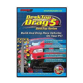 Competition Cams 186401 Pro Racing Sim Desk Top Drag 5 Software