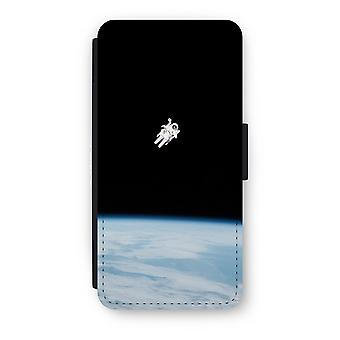 iPhone 7 Flip Case - Alone in Space