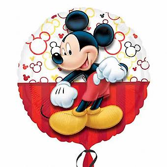 Disney Anagram 18 Inch Circle Mickey Mouse Foil Balloon