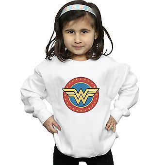 DC Comics ragazze chiedo cerchio donna Logo Felpa