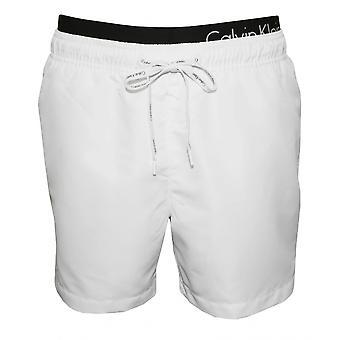 Calvin Klein двойной пояса плавки, белый