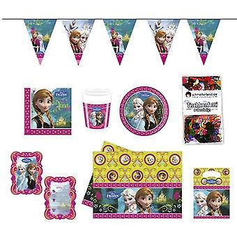 Caixa de festa festa pacote congelado crianças aniversário 51-teilig