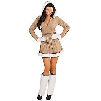 Eskimo Girl kostym