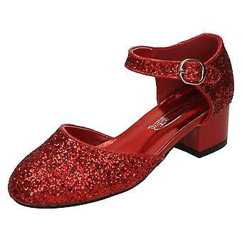 Девочек пятно на середине каблуки обуви H3065