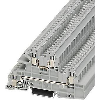 Phoenix Contact UTI 2,5-L/L 3076031 teollisuuden Riviliitäntä nastojen määrä: 4 0,2 mm² 4 mm² harmaa 1 PCs()