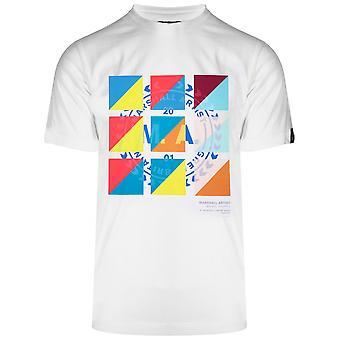 Marshall Artist Marshall Artist White CMYK Logo T-Shirt