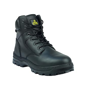 Amblers Mens FS84 acciaio Toe & intersuola in pelle sicurezza Boot S1-P-SRA