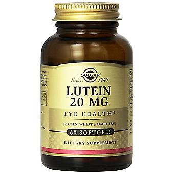 Solgar Lutein 20 mg Softgels 60 Ct