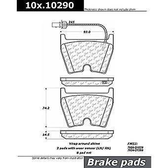 Centric Parts 100.10290 100 Series Brake Pad
