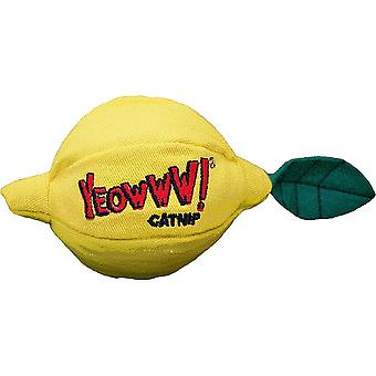 Ducky Yeowww! Sour Pusss Lemon Cat Toy
