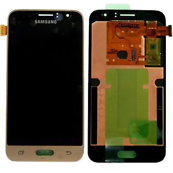 הצג LCD להגדיר המלא GH97-18224B זהב עבור Samsung Galaxy J1 J120F 2016