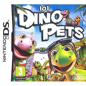 101 Dino Kæledyr (Nintendo DS) - Som ny