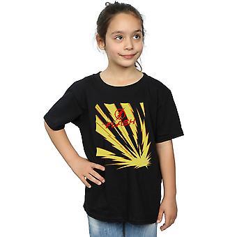 DC Comics девушки вспышка молнии болты футболку